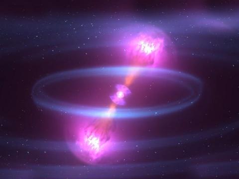 9亿光年外,一个黑洞吞噬了一颗中子星,场面很震撼