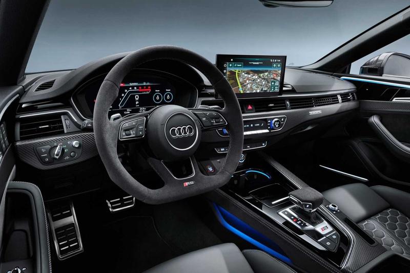 搭2.9T发动机 破百仅需3.9秒 新款奥迪RS 5官图发布