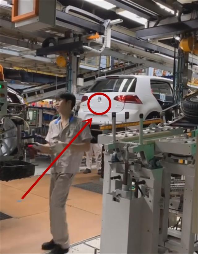 实拍奥迪A3的生产线工厂,除了生产奥迪A3之外,还有大众高尔夫