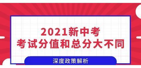@初中考生,2020中考和2021中考最新变化