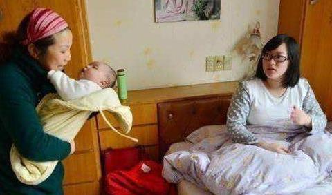 三胎如愿生了儿子,宝妈却带着未满月儿子回娘家,婆婆:摆架子?