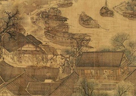解读千古名画:《清明上河图》构图有玄机,暗藏怎样的文化现象