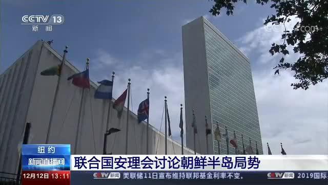 联合国安理会讨论朝鲜半岛局势