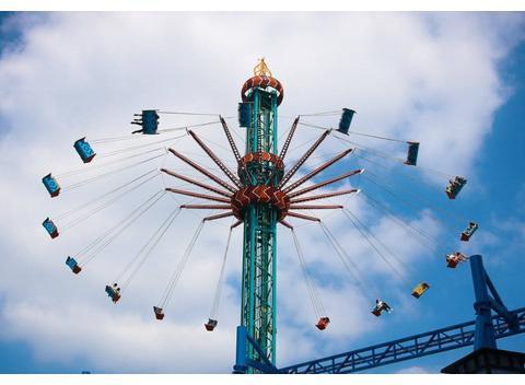 心理测试:游乐园哪个项目比较刺激,测你现在的生活会有压力吗?