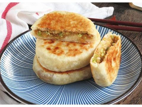 冬天早餐从不出去买,松软多馅的小饼儿子最爱,一口气吃两个真香