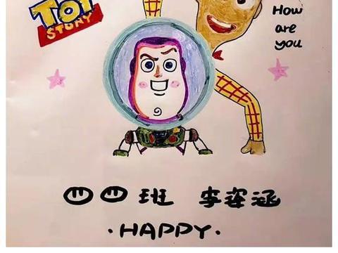 爸爸为女儿花样手绘插画书皮,网友:严重拉高了当爸爸的平均要求