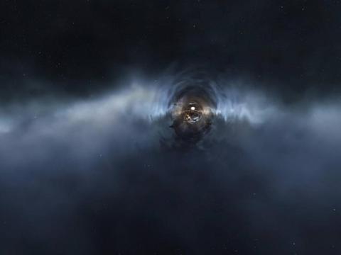 世界上最大的黑洞!由中国科学家发现,黑洞理论将被重新改写