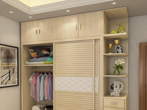 家里不要装这种衣柜了,容易坏又不实用,懊悔我家如今才发觉