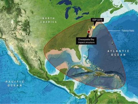 23万公里时速撞击美国大陆,海啸毁加勒比,百慕大三角未能幸免
