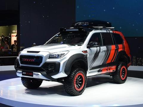 长城哈弗越野最强的SUV,非承载式车身标配四驱,224马力,20万起