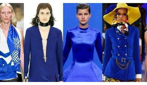 30套Pantone2020趋势代表色!2020春夏时装周经典蓝造型精选