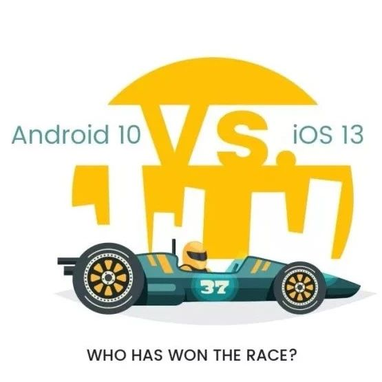 Android 10 vs iOS 13,逐鹿手机操作系统之王!