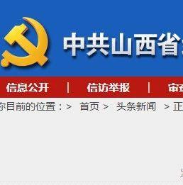 吕梁市委原常委、孝义市委原书记张旭光被处分