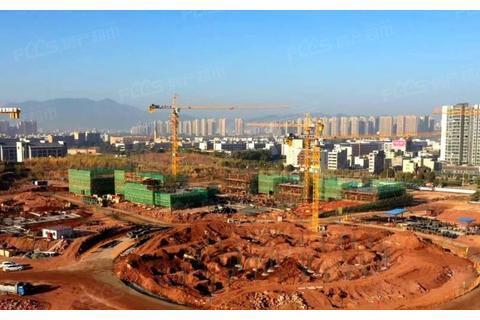 广师大河源校区第一栋建筑主体工程封顶 河源首所本科院校