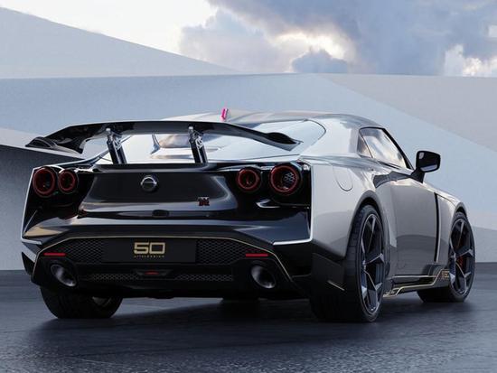 99万欧起售/限量50辆 日产GT-R50最新官图