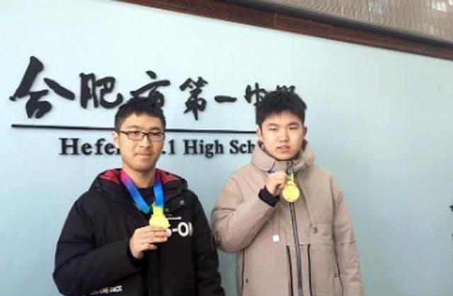 安徽学霸赢得奥数金牌,获得北大保研资格,成功都是用汗水浇灌