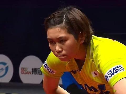 中日乒乓对决三战两胜!奥运冠军惨败出局,伊藤美诚被幸运砸中