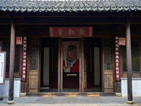 走进无锡最古老的街区惠山古镇,探访历史名人祠堂——范文正公祠