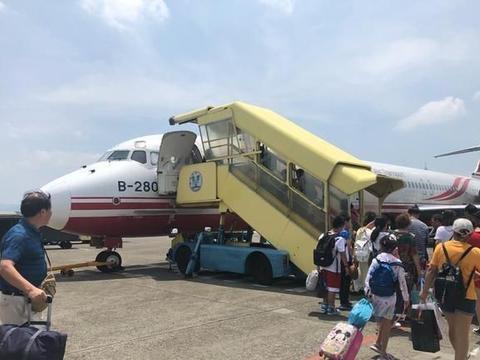 """大陆游客""""消失""""后,宝岛旅游项目冷清,62年航空公司官宣停业"""