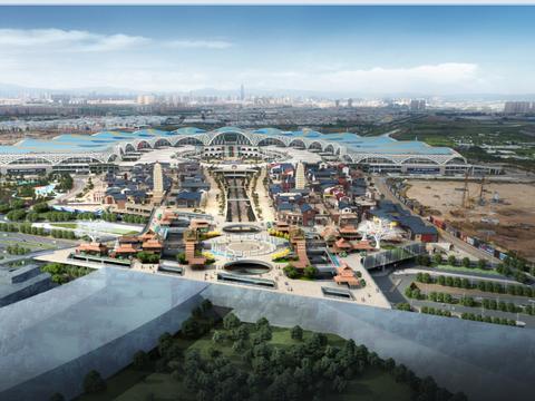 中建钢构中标昆明滇池国际会展中心小镇施工总承包项