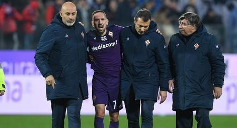 佛罗伦萨官方:里贝里将接受脚踝手术