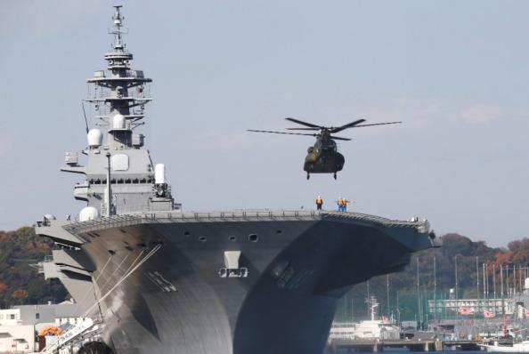 日本又不安分了?拉上美印举行实弹演习,地点选在南海,挑衅谁?