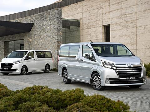 丰田Granvia上午车型近期将在澳大利亚市场正式发布