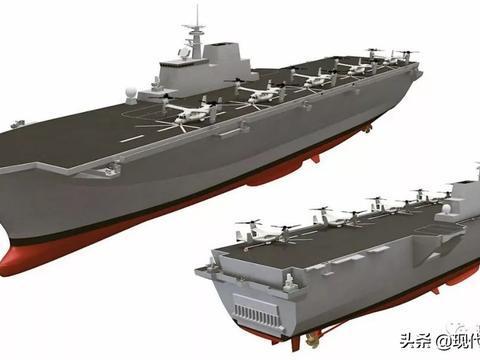 弹射型航母、两栖攻击舰一起造 日本这头恶狼终于露出骇人的獠牙