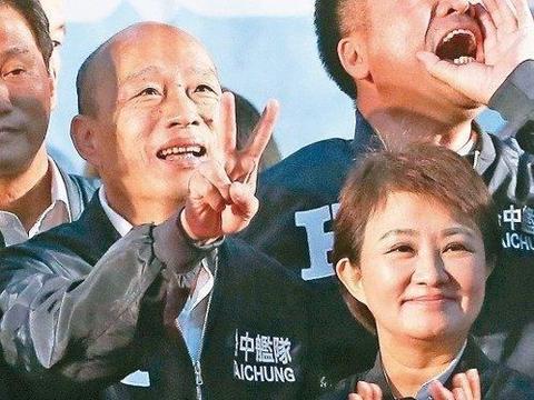 """韩国瑜台中造势,高喊""""只要有我在,台湾一定强!"""""""