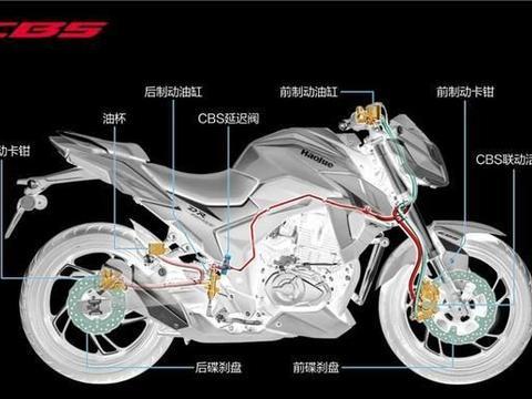 车友问,装配有刹车联动系统的摩托车,怎么刹车?