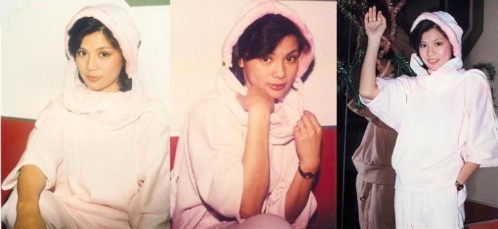 翁美玲当年受欢迎的程度,同男友约会逛街时候也有粉丝要签名