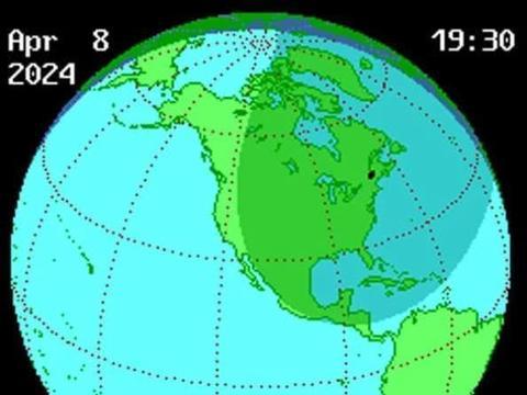 """持续4分28秒!又一个""""伟大的美国日食""""即将来临,敬请期待"""