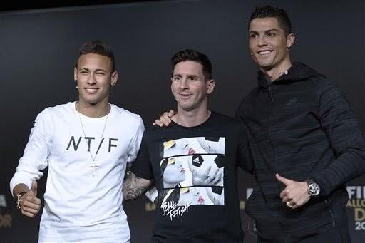 谁是2019世界足坛的流量明星?内马尔击败梅西C罗,位列第一