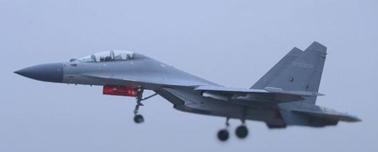 第五批次歼16已经出现,总数超过140架,采用改进型太行发动机