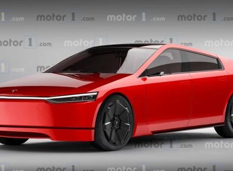 特斯拉Model S如果也开始赛博朋克怎么办