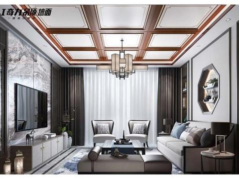 三种客厅吊顶风格,这样装挺美的