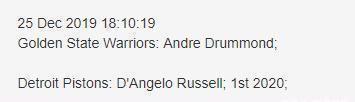 2换1!拉塞尔还是要离开,场均15+3角色球员也被摆上交易?
