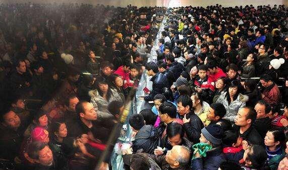 铁路上海站今日估计发送搭客42万人 筹划增开列车38趟