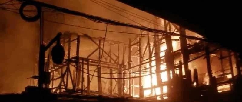 冬天也要注意防火安全!昨晚七星关区发生一起火灾