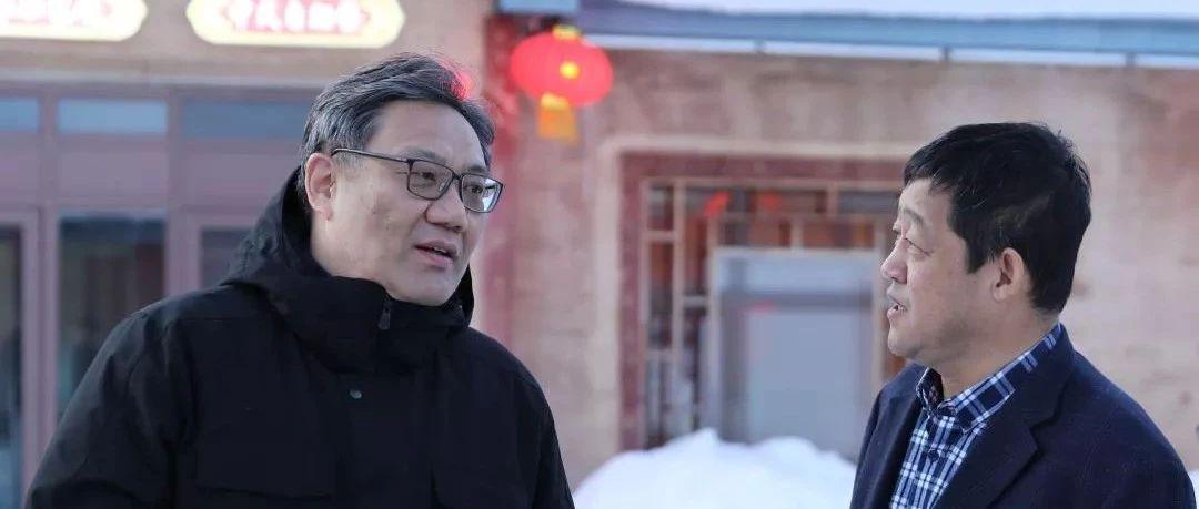 省长王文涛元旦暗访雪乡