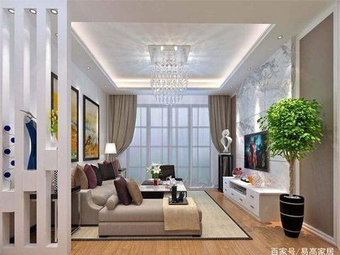 客厅怎样设计才不会显得拥堵?