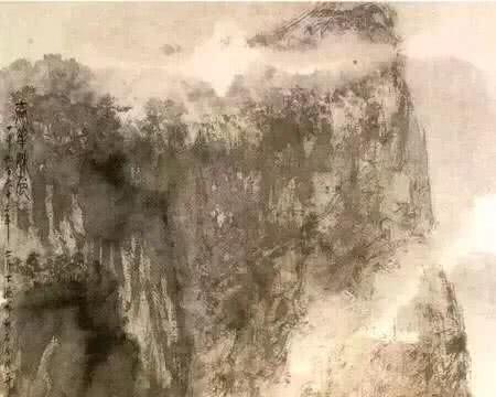 三幅秋色作品:吴冠中的细腻,张大千的妖艳,傅抱石的最意境