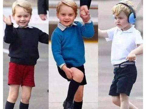 执着的王室品味!英王室祖孙四代人合影,小王子第九次穿相同制服