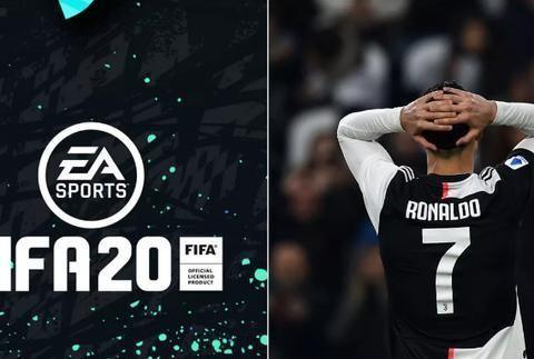 FIFA20公布年度最佳阵容,C罗被排除在外,金球奖得主梅西入选