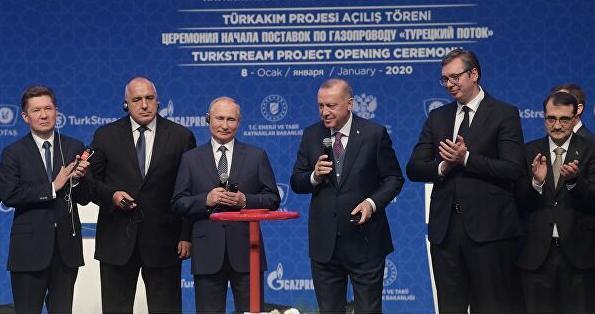 """""""土耳其溪""""开通了,""""北溪-2""""开通还会远吗?"""