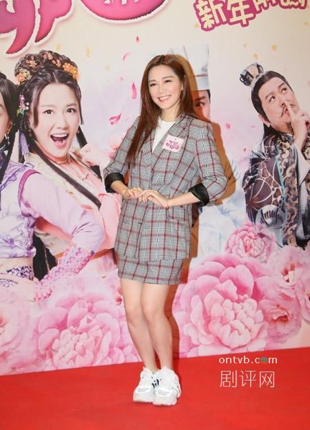 《丫鬟大联盟》宣传 汤洛雯今年有喜事?洪永城大赞是好老婆