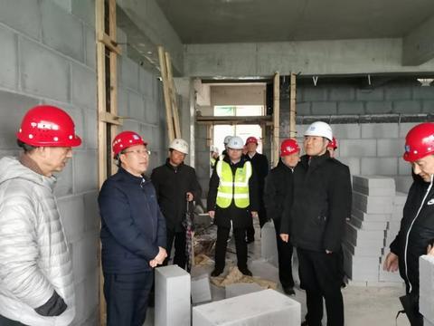焦作市福利院迁建项目主体封顶