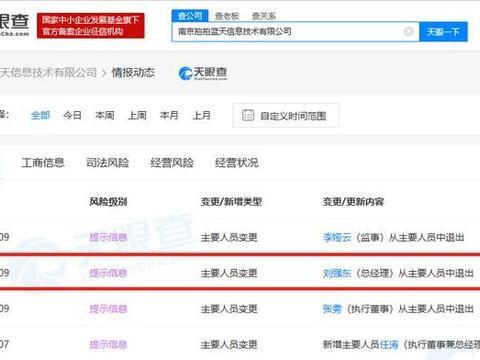 刘强东卸任拍拍网关联公司总经理一职