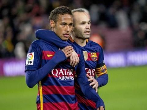 伊涅斯塔:内马尔将成为巴塞罗那最伟大的签约