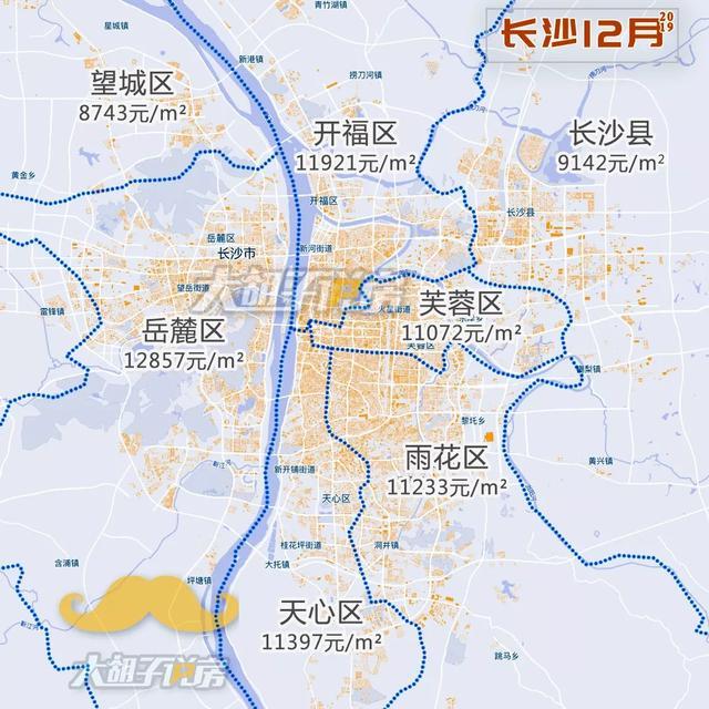 收藏!2019.12月『房价地图』,有个城市涨了20%!